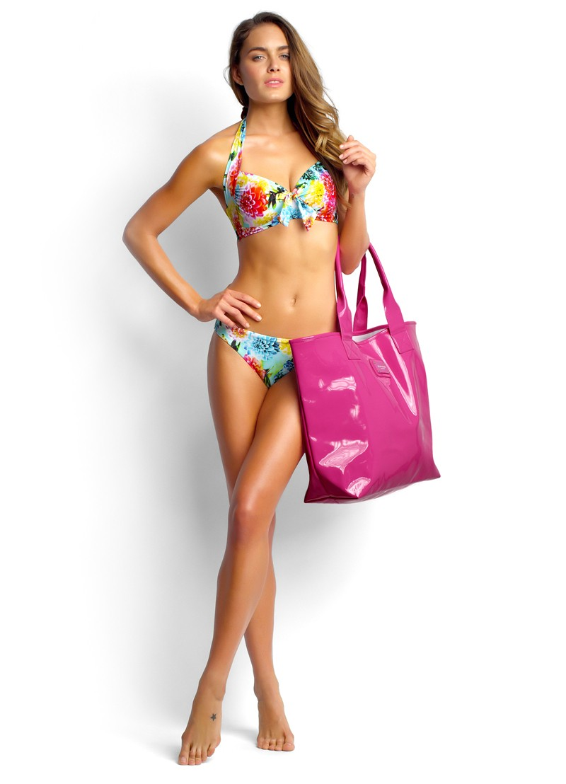Geisha Soft Cup Halter, Hit The Beach Tote and Hipster