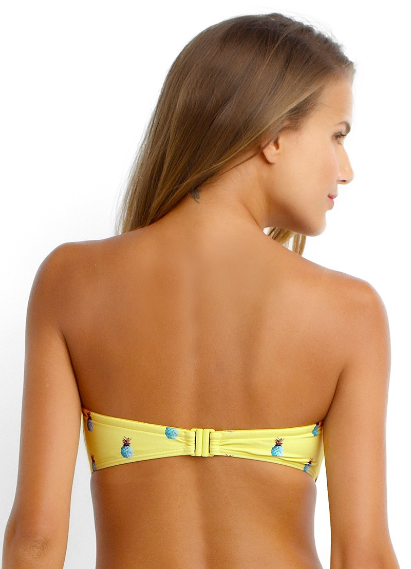 Summer Crush Tie Front Bandeau
