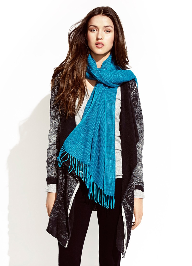 Cadillac Wrap, Ponte Tights and Smudge Scarf