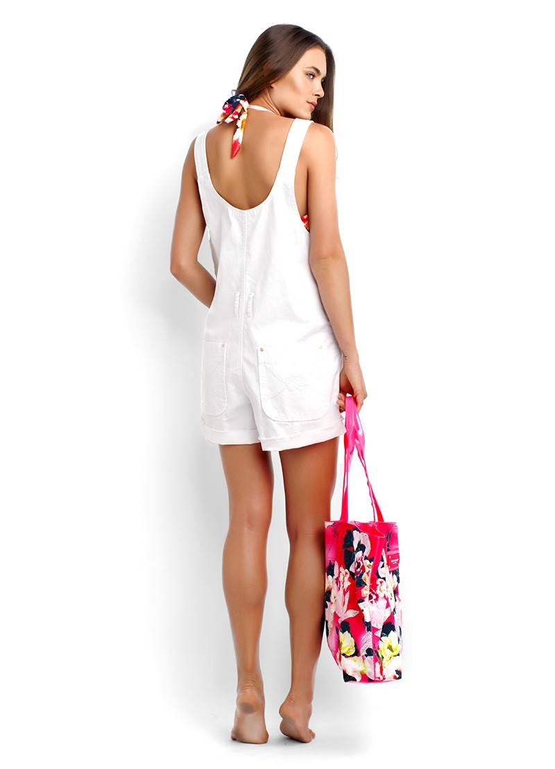 Candy Overall & Tropicana Tote