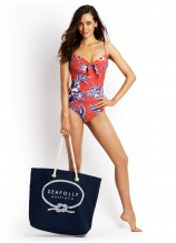 Tropical Beat D Underwire Maillot