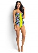 Bella Rose D Cup Bustier One Piece
