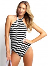 Mod Club High Neck Maillot