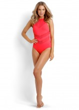 Seafolly Goddess High Neck Maillot