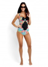 Kimono Rose DD Cup Balconette Singlet and Hipster