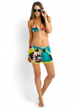 Kabuki Bloom Slide Tri, Teardrop Short and Georgette Sunglasses