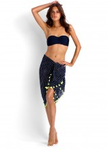 Seafolly Goddess Kiara Bustier and Cable Sarong
