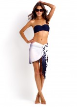Seafolly Goddess Kiara Bustier and Shadow Sarong