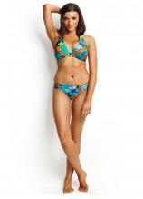 Paradise F Cup Halter and Ruched Side Pant