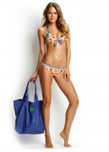 Aloha Tie Front Halter and Mini Hipster