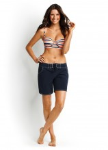 East Coast D Cup Bustier and Barracuda Boardshorts