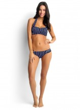 Coastline D Cup Bandeau Bustier and Soft Pleat Pant
