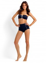 Coastline Bandeau Bustier and High Waisted Vintage Pant
