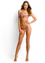 Butterfly Coast Soft Cup Halter and Pleated Retro