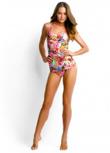 Butterfly Coast Halter Singlet and Pleated Retro