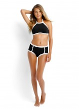 Block Party High Neck Tank and High Waisted Pant