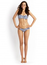 Seaview Bandeau and Ruched Side Pant