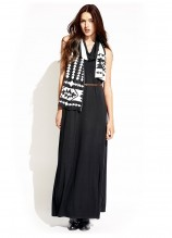 El Camino Maxi Dress and Red Rock Scarf