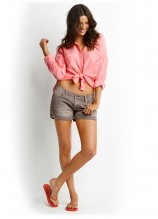 Breeze Shirt and Candi Denim Shorts