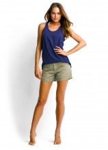 Island Singlet and Candy Denim Shorts