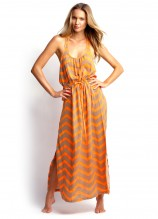 Zig Zag Maxi Dress