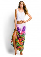 Scoop Singlet and Samba Maxi Skirt