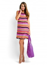 Sumba Sally Dress and Hit the Beach Tote - VIOLET