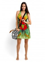 Planet Earth Dress and Lei tote