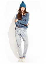 Academy Sweater and Orbit Track Pant