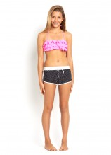 Ruffle Mini Tube Bikini and Bon Voyage Scoop Boardie