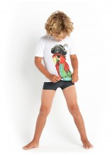 Jungle Fever Short Sleeve Rashie and Racer Bottoms
