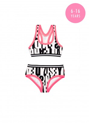 Tagged Action Back Tankini