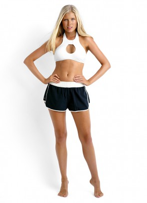 Seafolly Goddess Keyhole Bikini Tank Top & Hit Repeat Short