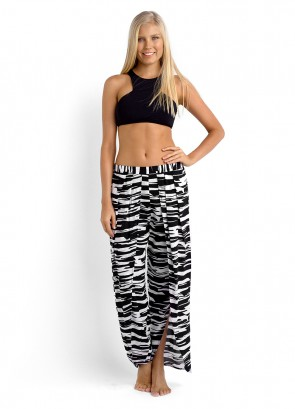 Active High Neck Bikini Tank Top & Peek A Boo Pant