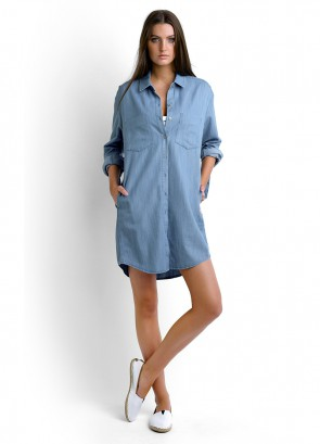 Journey Shirt Dress