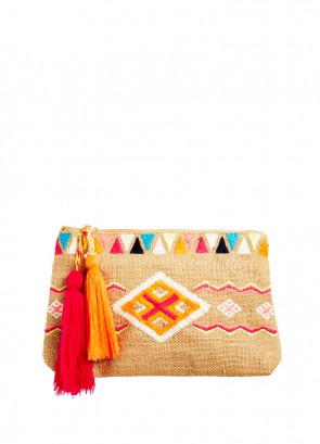 Mexican Summer Clutch