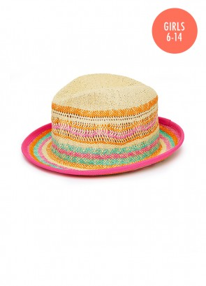 Summer Camp Trilby Hat