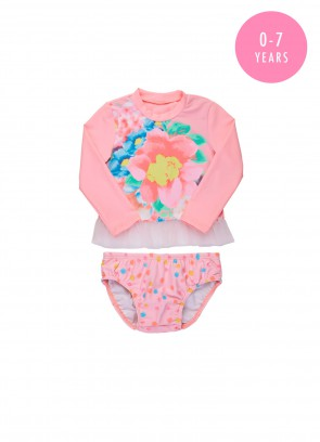 Spring Bloom Baby Sunvest Set