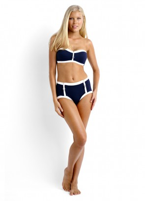 Block Party Bandeau & High Waisted Pant